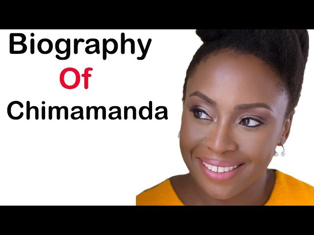 Video Pronunciation of Chimamanda Ngozi Adichie in English