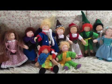 Biegepuppen Bendy Dolls