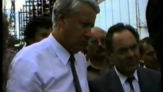 Визит Б.Ельцина на площадку ТатАЭС(Август 1990г. )