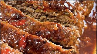 Bourbon Glaze Meatloaf Recipe