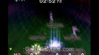 SSBM Walkthrough 11 - 100-Man Melee