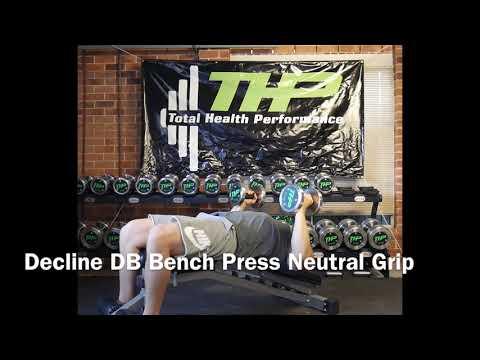 Decline DB Bench Press Neutral Grip