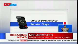 Officials from NASA don't know where police have taken chief strategist David Ndii after arrest