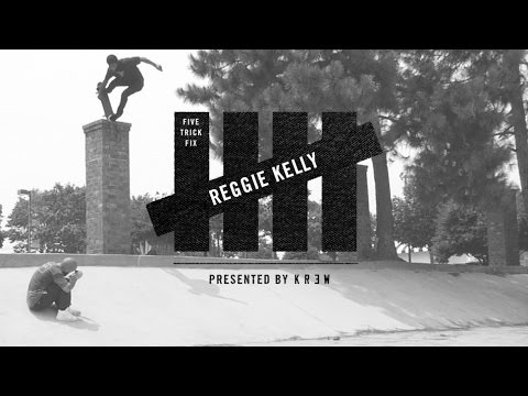 Image for video 5 Trick Fix presented by KR3W: Reggie Kelly - TransWorld SKATEboarding