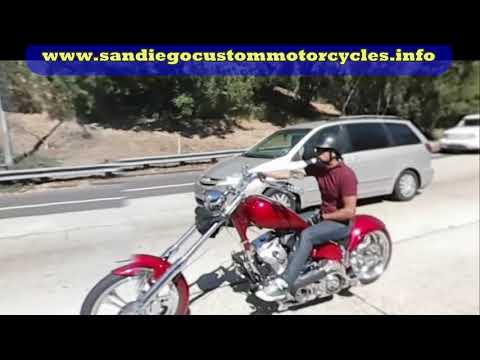 San Diego chopper motorcycle ride – Comic-Con