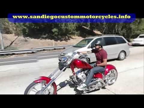 San Diego chopper motorcycle ride – Comic-Con