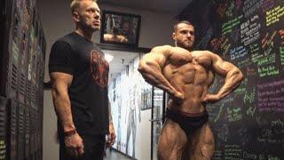 Деннис Вольф заставил мои грудные мышцы гореть. Тренировка груди в Лас-Вегасе.