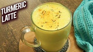Turmeric Latte - How To Make Turmeric Milk - Golden Drink Recipe - Haldi Doodh - Varun