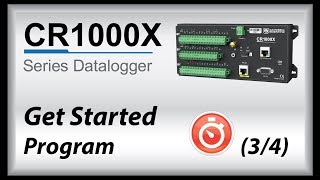 cr1000x datalogger getting started | program (part 3)