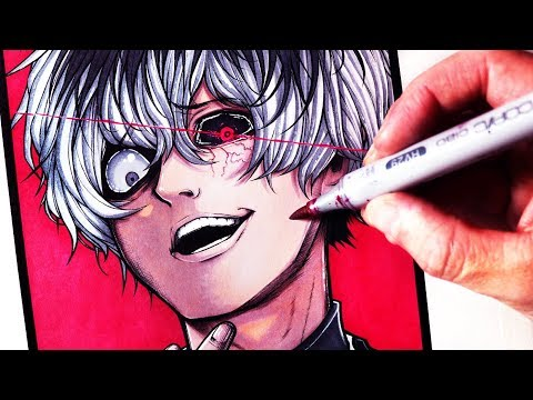 Let's Draw HAISE SASAKI - TOKYO GHOUL:RE - FAN ART FRIDAY