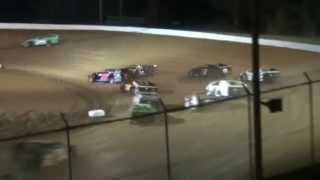 preview picture of video 'Skyline Speedway AMRA Modified Feature 4-12-2014'