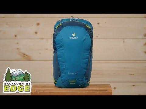 Видео о Рюкзак Deuter Speed Lite 16 black 3410119 7000