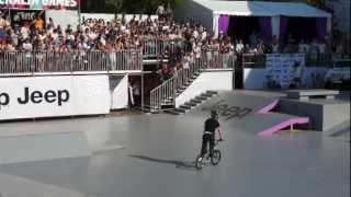 Adrenalin Games 2012 в Москве - Финал BMX Finals - 1st attempt