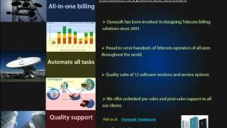 Dynasoft TeleFactura Telecom Billing   Part 1