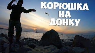 Ловли корюшки на финском заливе южный берег