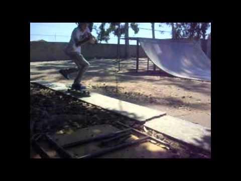 Skating at Papa Jacks Skate Park