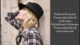 Versprochen   Sarah Connor   (Lyrics)