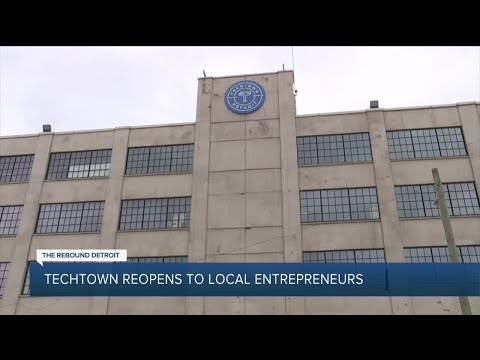 TechTown Detroit : The collaborative workspace is adjusting to the new norm for your safety