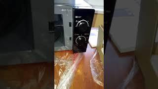 Розпаковка мікрохвильовки Sharp R-200(BK)