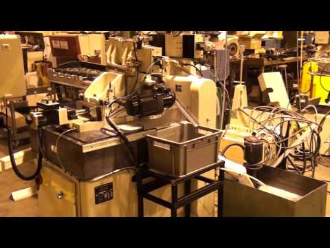 Royal Master Centerless Grinder TG 12x8 thrufeed grinding an automotive application