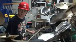 A.I.R. by Anthrax (Drum Cover)