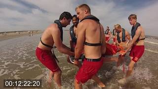 Lijnredding Strandwacht Hoek van Holland