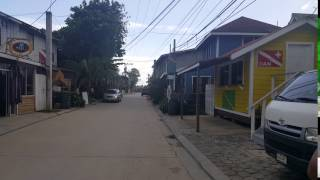 West End Road in Roatan