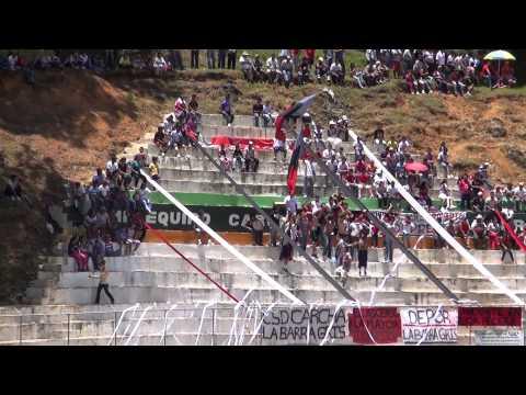 """""""Recibimiento Barra Gris Clasico 4-9-12"""" Barra: La Barra Gris • Club: Deportivo Carchá"""