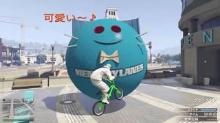 GTA BMX練習場 生活指導(kamonegi-chan)& Rise up (my race)