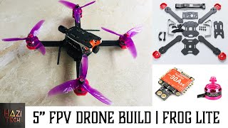How To Build a PRO Cost Effective FPV Freestyle Drone Easily | TransTEC Frog Lite 5 Inch
