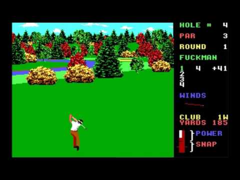 World Class Leaderboard Golf Looks Like He Hit The Tree Jim Deep In The Sand Trap Water