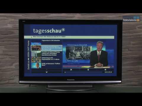 Fernseher mit Internet-Anbindung von Panasonic