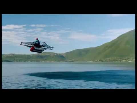 Летательный аппарат Flyer от Kitty Hawk