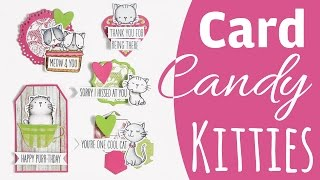 [Tutorial] Card Candy Cool Kitties | DEUTSCH | Sammyfim