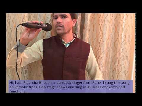 Hindi Bollywood Song: O mere dil ke chain chain aaye mere dil ko duaa kijiye .. By Rajendra Bhosale