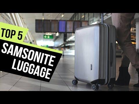 5 Best Samsonite Luggage 2018