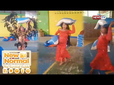 [GMA]  Bright Side: LGBT backliners, viral dahil sa panalong pagrampa habang nagre-repack! | New Normal