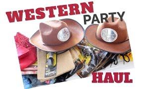 COWBOY/WESTERN THEME PARTY HAUL   TwinMomPlus1
