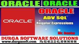 Oracle Tutorial || online training|| Adv Sql | Regular Expressions by basha