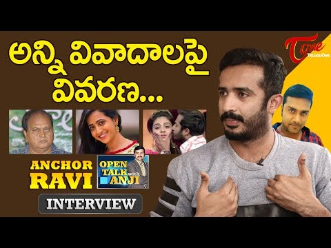 Anchor Ravi Exclusive Interview | Open Talk with Anji | #16 | Telugu Interviews