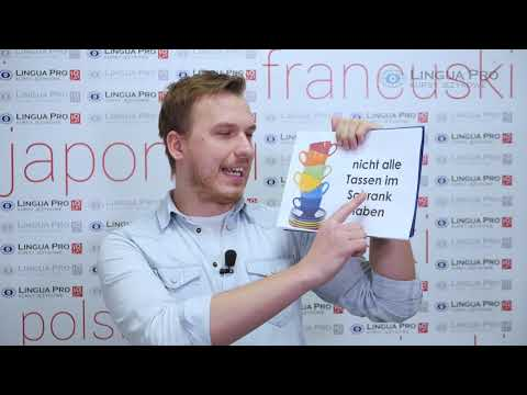Kadr z filmu na youtube - POPULARNE ZWROTY