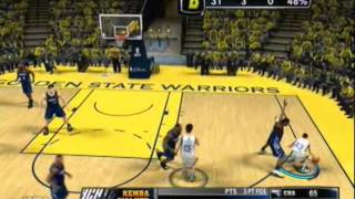 NBA 2K14 XBOX360 NBA Finals Game 1 Warriors VS Bobcats