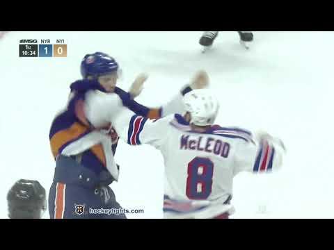 Scott Mayfield vs. Cody McLeod