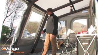 Vango Caravan Awning Varkala Airawning Filmed 2014