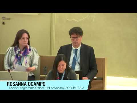 HRC43: Item 4, recommendations of the independent inquiry into the involvement of the UN in Myanmar
