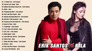 Erik Santos, Kyla Nonstop Songs  Best OPM Tagalog Love Songs Collection
