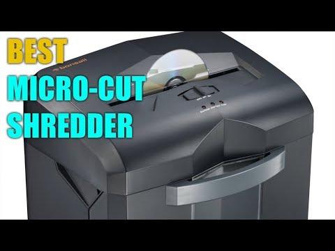 Best Paper Shredder Machine on Existing Market | Micro-Cut Shredder Review 2018 | Cross-Cut Shredder