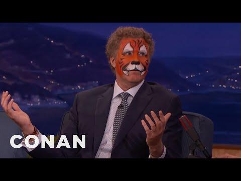 Will Ferrell's College Janitor Prank  - CONAN on TBS