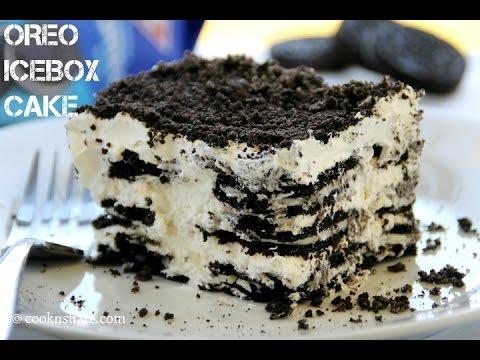 Video Oreo Icebox Cake - 2 Ingredients