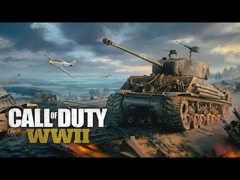 ТАНКИ ПРОТИВ ПЕХОТЫ! - СПАСТИ РЯДОВОГО ШИМОРО! - Call of Duty: WW2 #2